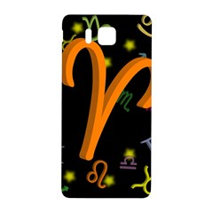 Aries Floating Zodiac Sign Samsung Galaxy Alpha Hardshell Back Case