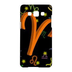 Aries Floating Zodiac Sign Samsung Galaxy A5 Hardshell Case