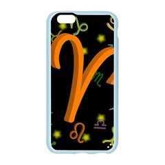 Aries Floating Zodiac Sign Apple Seamless iPhone 6 Case (Color)