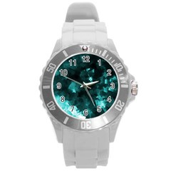 Space Like No 5 Round Plastic Sport Watch (l)