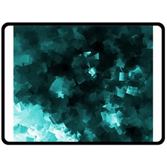 Space Like No.5 Double Sided Fleece Blanket (Large)