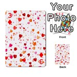 Heart 2014 0603 Playing Cards 54 Designs  Front - Diamond3