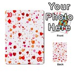 Heart 2014 0603 Playing Cards 54 Designs  Front - Diamond10