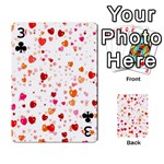 Heart 2014 0603 Playing Cards 54 Designs  Front - Club3