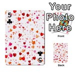 Heart 2014 0603 Playing Cards 54 Designs  Front - Club5
