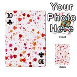 Heart 2014 0603 Playing Cards 54 Designs  Front - Club10
