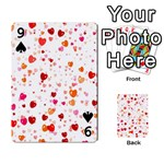 Heart 2014 0603 Playing Cards 54 Designs  Front - Spade9