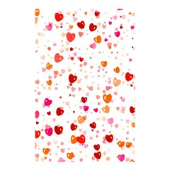 Heart 2014 0603 Shower Curtain 48  x 72  (Small)