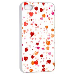Heart 2014 0603 Apple iPhone 4/4s Seamless Case (White)