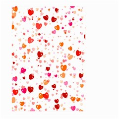 Heart 2014 0603 Large Garden Flag (two Sides)