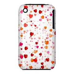 Heart 2014 0603 Apple Iphone 3g/3gs Hardshell Case (pc+silicone)