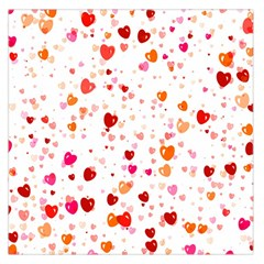 Heart 2014 0603 Large Satin Scarf (square)