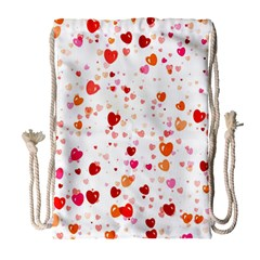 Heart 2014 0603 Drawstring Bag (Large)
