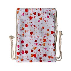 Heart 2014 0603 Drawstring Bag (Small)