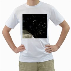 Space Like No 6 Men s T Shirt (white) (two Sided)