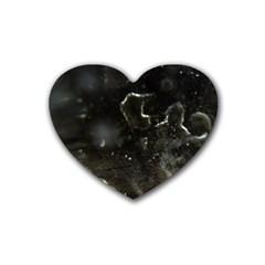 Space Like No 6 Rubber Coaster (heart)