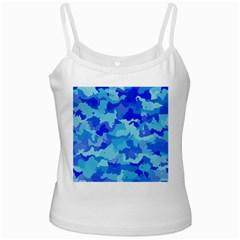 Camouflage Blue Ladies Camisoles