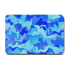 Camouflage Blue Small Doormat