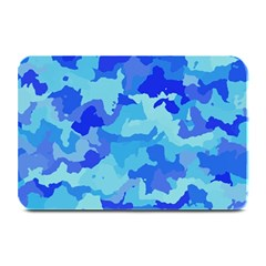 Camouflage Blue Plate Mats