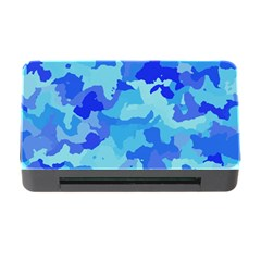 Camouflage Blue Memory Card Reader with CF