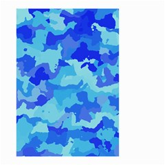 Camouflage Blue Small Garden Flag (Two Sides)