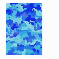 Camouflage Blue Large Garden Flag (Two Sides)