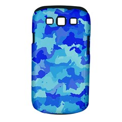 Camouflage Blue Samsung Galaxy S Iii Classic Hardshell Case (pc+silicone)