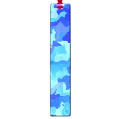 Camouflage Blue Large Book Marks