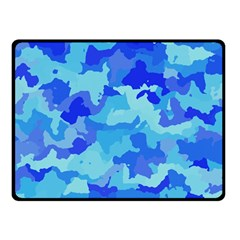 Camouflage Blue Double Sided Fleece Blanket (Small)