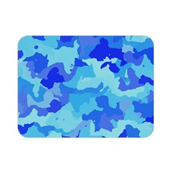 Camouflage Blue Double Sided Flano Blanket (mini)