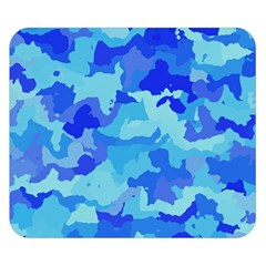 Camouflage Blue Double Sided Flano Blanket (Small)