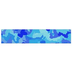 Camouflage Blue Flano Scarf (small)