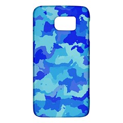 Camouflage Blue Galaxy S6