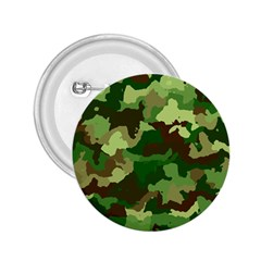 Camouflage Green 2 25  Buttons