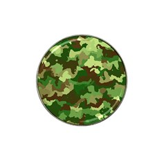 Camouflage Green Hat Clip Ball Marker