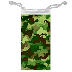 Camouflage Green Jewelry Bags