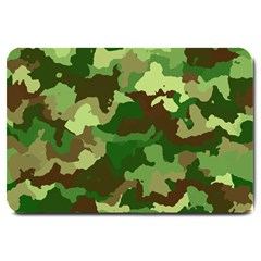 Camouflage Green Large Doormat