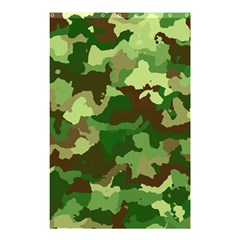 Camouflage Green Shower Curtain 48  X 72  (small)