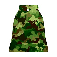 Camouflage Green Bell Ornament (2 Sides)