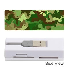 Camouflage Green Memory Card Reader (stick)
