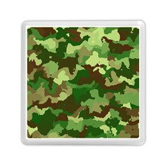 Camouflage Green Memory Card Reader (Square)