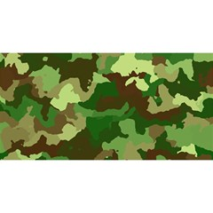 Camouflage Green YOU ARE INVITED 3D Greeting Card (8x4)