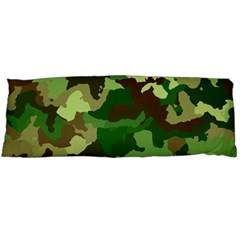 Camouflage Green Body Pillow Cases Dakimakura (two Sides)