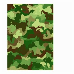 Camouflage Green Small Garden Flag (two Sides)