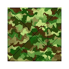 Camouflage Green Acrylic Tangram Puzzle (6  x 6 )