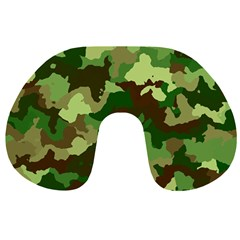 Camouflage Green Travel Neck Pillows