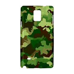 Camouflage Green Samsung Galaxy Note 4 Hardshell Case