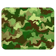 Camouflage Green Double Sided Flano Blanket (Medium)