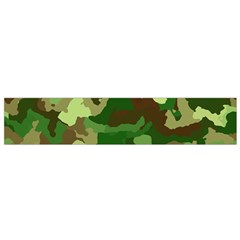Camouflage Green Flano Scarf (small)