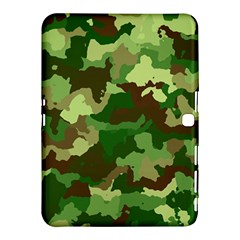 Camouflage Green Samsung Galaxy Tab 4 (10.1 ) Hardshell Case